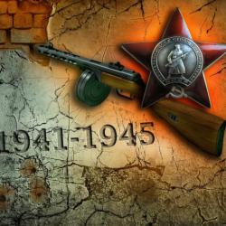 Поздравлем с 70-ти летием Великой Победы.