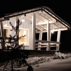 Самый маленький загородный дом