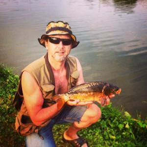 sergey fishing