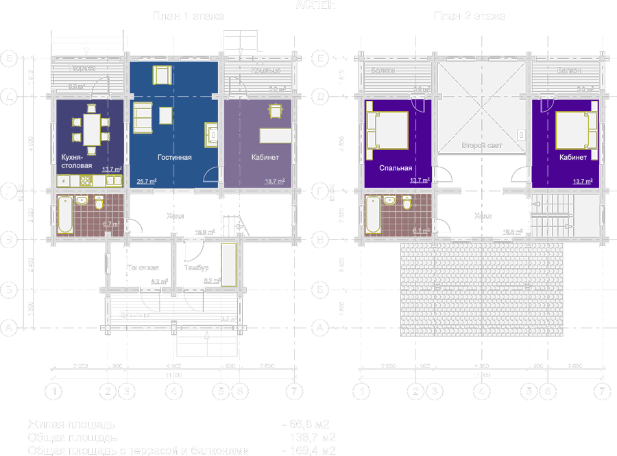 Полноэтажный план