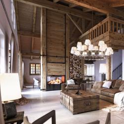 Дома в стиле шале: экстерьер и интерьер