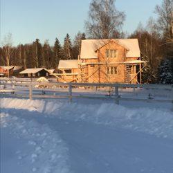 Как убрать снег и наледь на даче
