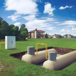 Об автономном газоснабжении дома